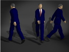 Office Man 3dsMax Model