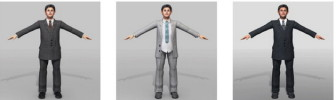 Office Man Character 3dsMax Model