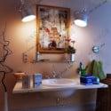 بالوعة الحمام الرعوية المشهد الداخلي