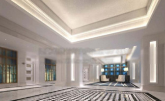 3d Max Model Interior Corporate Office Space