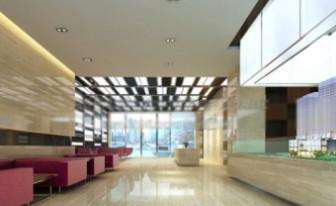 3d Max Model Interior Scene Commercial Space
