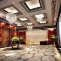 Fortune Hotel Hall Design 3d Max Model Free
