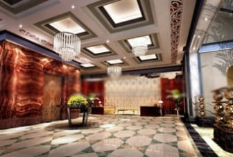 Fortune Hotel Hall Design
