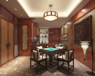Chess Room Interior Scene 3d Max Model Free