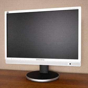 3d Max Model Lcd Tv Flat Monitor