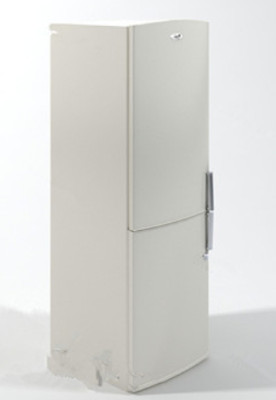 3d Max Model Free White Refrigerator