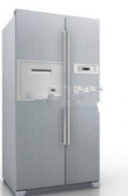 3d Max Model Free Of Two-door Refrigerator