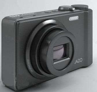 Black Camera Compact 3d Max Model Free