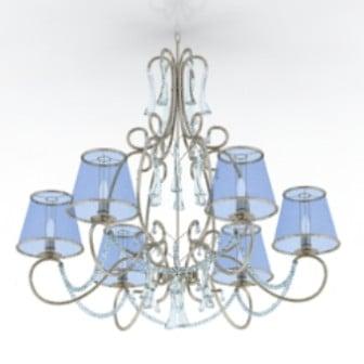 Luxury Blue Ceiling