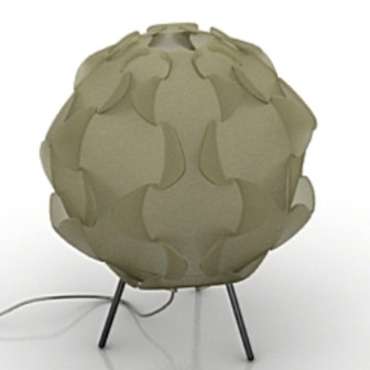 Original Dome Lamp 3d Max Model Free