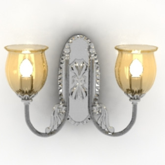 Palace Warm Chandelier 3d Max Model Free