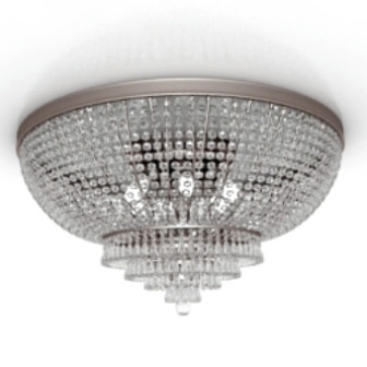Round Bright Ceiling Lamp 3d Max Model Free