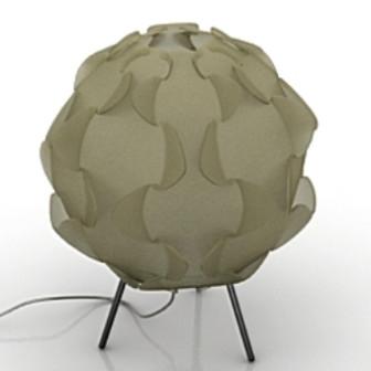 Flower Style Floor Lamp 3d Max Model Free