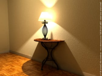 Yellow Glow Reading Lamp