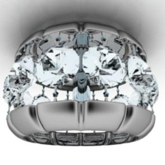 Obsidian Pendant Lamp 3d Max Model Free