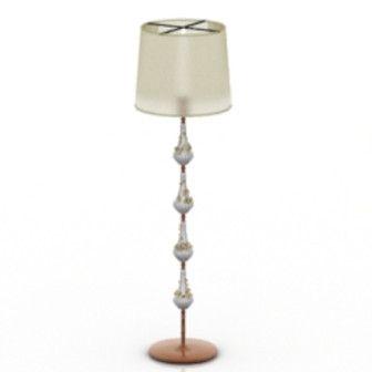 Crystal Floor Lamp 3d Max Model Free
