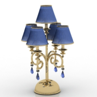 Vintage Hotel Reading Lamp 3d Max Model Free