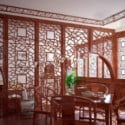 Retro Wooden Decoration Restaurant 3d Max Model Free