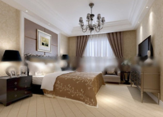 Hotel Double Bedroom Interior 3d Max Model Scene