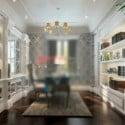 Interior Fresh Study Room Design