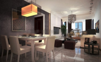 Dining ROom Interior Design Scene