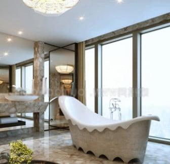 Luxury Banana Bathtub