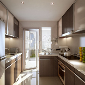 House Kitchen Interior Design 3dsMax Model Free