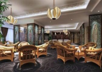 3d Max Model Interior Classic Cafe Design