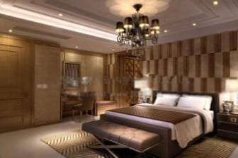 3d max model interior hotel bed room 3ds max free for Room design 3ds max