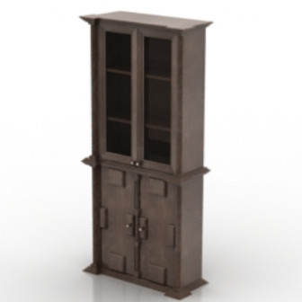Ancient Chinese Wooden Wardrobe 3d Max Model Free