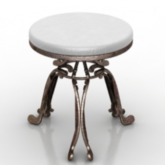 Decor Round Table 3d Max Model Free