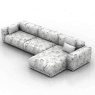 Spots Sofa 3d Max Model Free