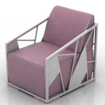 Polygon Armchair 3d Max Model Free