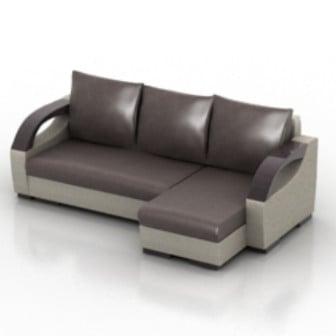 Leather Sofa Multi Seating