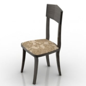 Vintage Single Old Chair 3d Max Model Free