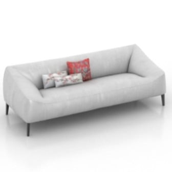 Small Modern Design Sofa 3d Max Model Free
