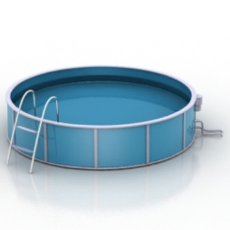 Round Pool 3d Max Model Free