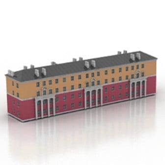 European Architecture 3d Max Model Free
