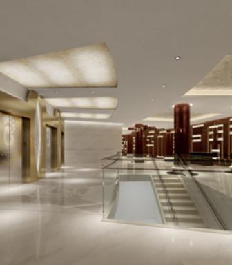 Company Hallway 3d Max Model Free