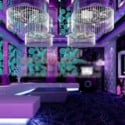 Purple Ktv Luxury Box 3d Max Model Free