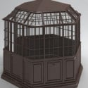 Enclosed Pavilion 3d Max Model Free