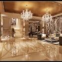 Continental Hotel Lobby Interior Scene