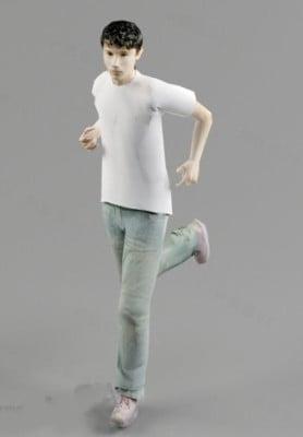 Camiseta Running Boy Character
