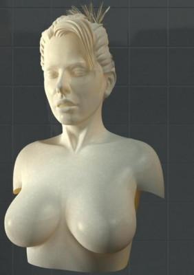 Female Body Statue