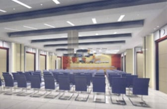 Conference Room Decor Scene