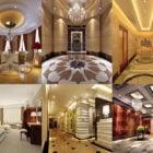 20 Hotel Interiørdesign Gratis 3ds Max Scener