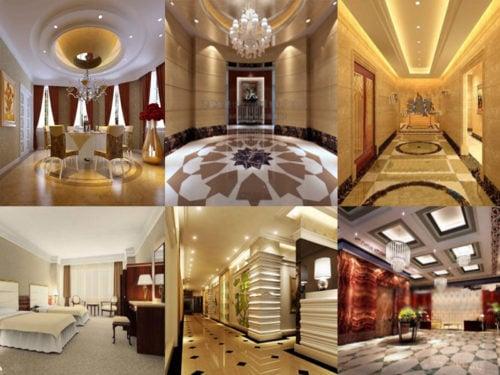 20 تصميم داخلي فندق مجاني 3ds Max مشاهد