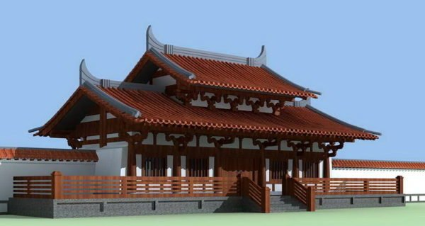 Ancient Chinese Architecture Temple