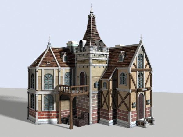 Casa de pueblo medieval