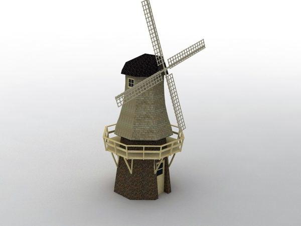 Casa del molino de viento